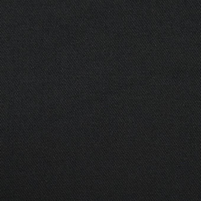 コットン&ポリウレタン×無地(ブラック)×チノクロス・ストレッチ_全3色 イメージ1