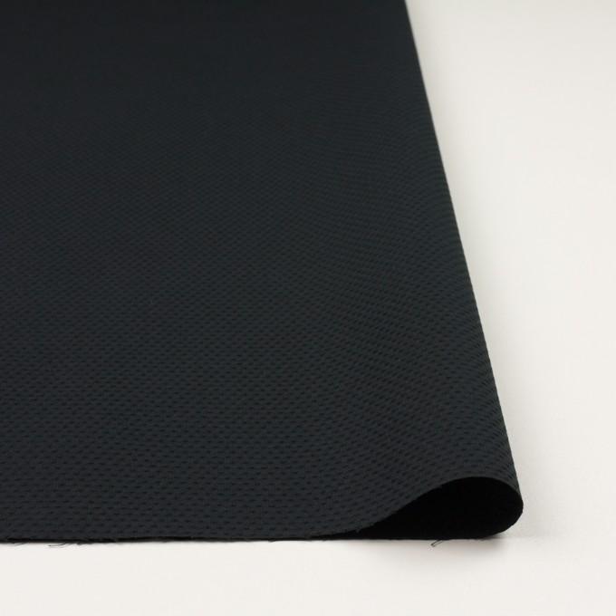 ポリエステル&コットン×クロス(ブラック)×シーチング・ドビー_全2色 イメージ3