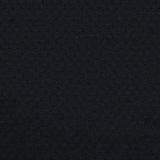 ポリエステル&コットン×クロス(ブラック)×シーチング・ドビー_全2色 イメージ1
