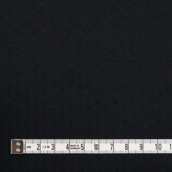ポリエステル×小紋(ブラック)×形状記憶タフタドビー サムネイル4