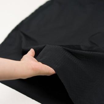 ポリエステル×小紋(ブラック)×形状記憶タフタドビー サムネイル5