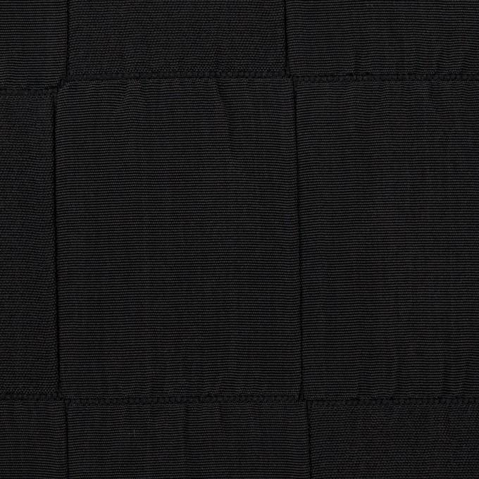 ポリエステル×スクエア(ブラック)×二重織 イメージ1