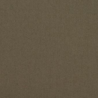 コットン&ナイロン混×無地(ダークカーキ)×ギャバジン_全4色 サムネイル1