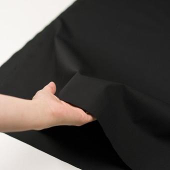 コットン&ナイロン混×無地(ブラック)×ギャバジン_全4色 サムネイル5