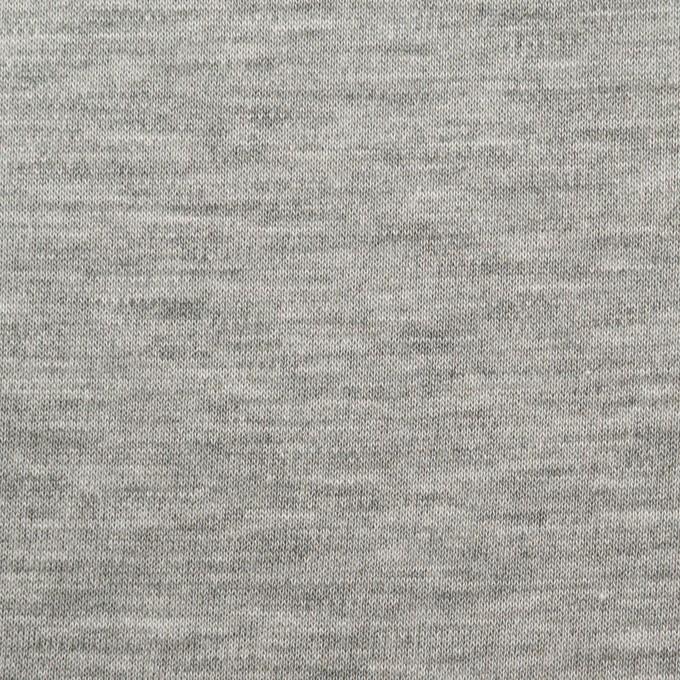 コットン&モダール×無地(シルバーグレー)×スムースニット イメージ1