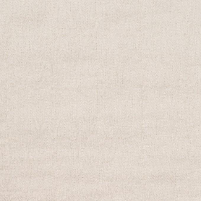 コットン&ポリウレタン×無地(アイボリー)×ヘリンボーン・シャーリング_全2色 イメージ1