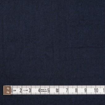 コットン&ポリウレタン×無地(ダークネイビー)×ヘリンボーン・シャーリング_全2色 サムネイル4