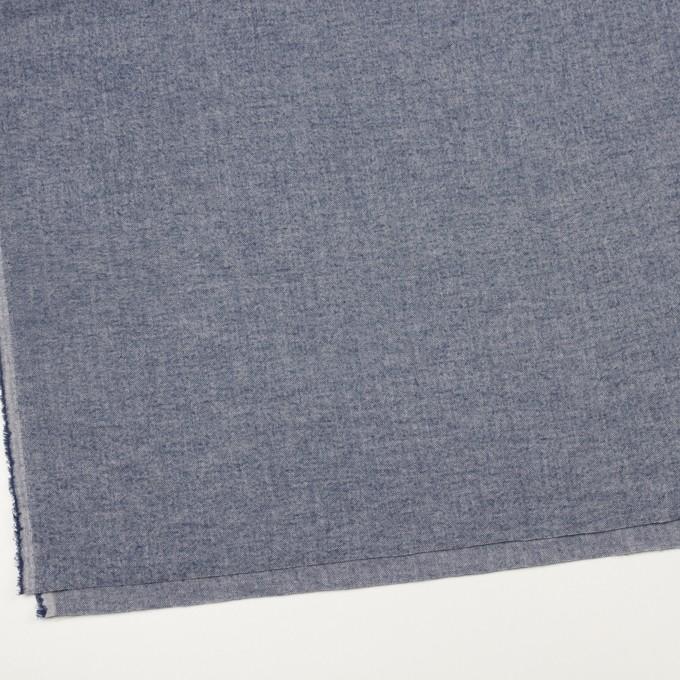 コットン&ポリウレタン×ミックス(ネイビー)×ヘリンボーン・シャーリング_全3色 イメージ2
