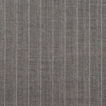 ポリエステル&レーヨン×ストライプ(グレー)×サージ&ポプリン_全2色 サムネイル1