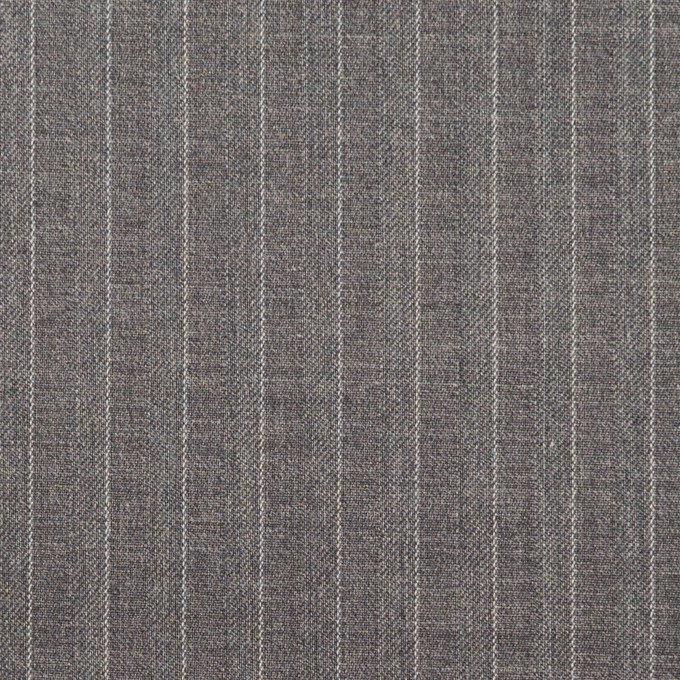 ポリエステル&レーヨン×ストライプ(グレー)×サージ&ポプリン_全2色 イメージ1