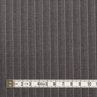 ポリエステル&レーヨン×ストライプ(チャコールグレー)×サージ&ポプリン_全2色 サムネイル4