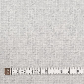 コットン×無地(ライトグレー)×Wニット_全2色 サムネイル4