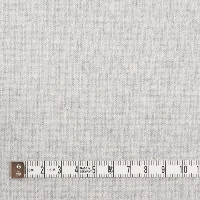 コットン×無地(ライトグレー)×Wニット_全2色 イメージ4