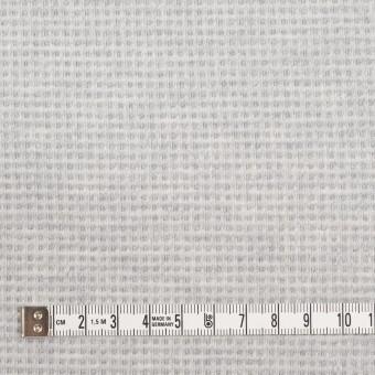 コットン×無地(ライトグレー)×Wニット_全2色 サムネイル6