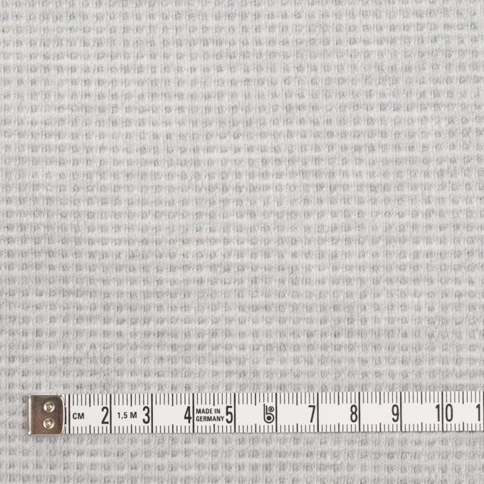 コットン×無地(ライトグレー)×Wニット_全2色 イメージ6