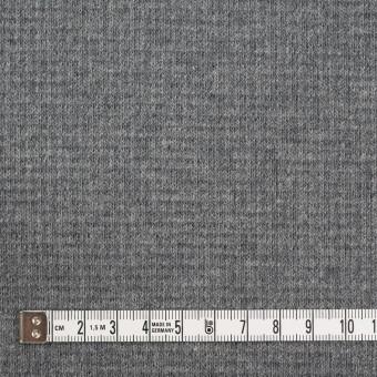 コットン×無地(チャコールグレー)×Wニット_全2色 サムネイル4