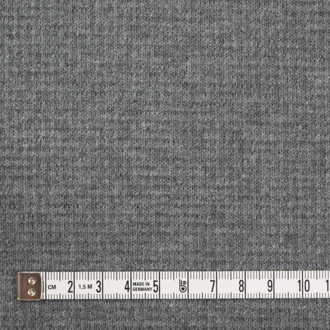 コットン×無地(チャコールグレー)×Wニット_全2色 イメージ4