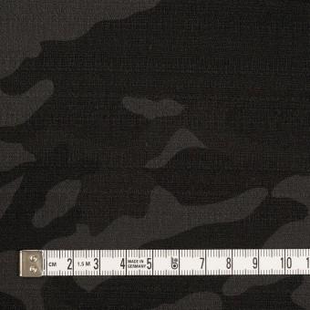 コットン&ポリウレタン×迷彩(チャコール)×ブッチャー・ストレッチ サムネイル4