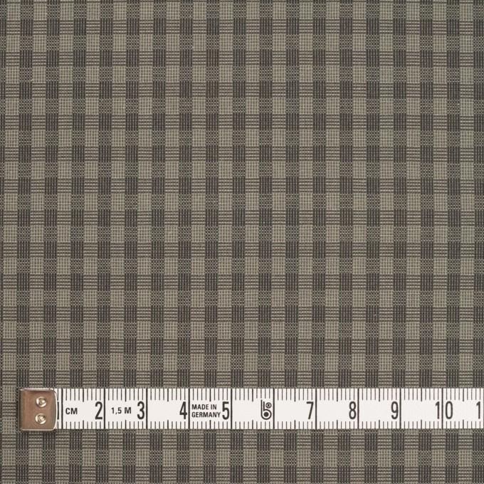 コットン×チェック(モスグレー)×ポプリン_イタリア製 イメージ4