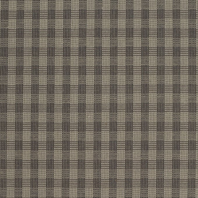 コットン×チェック(モスグレー)×ポプリン_イタリア製 イメージ1