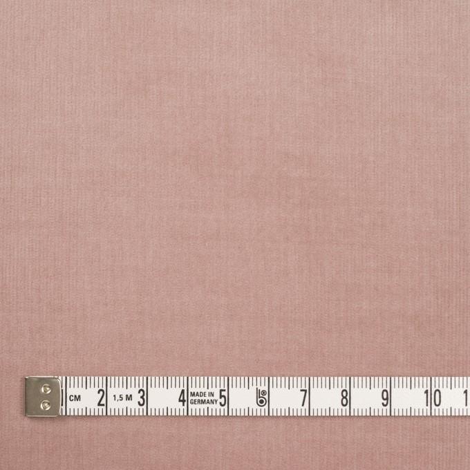 コットン&ポリウレタン×無地(グレイッシュピンク)×細コーデュロイ・ストレッチ_全5色 イメージ4