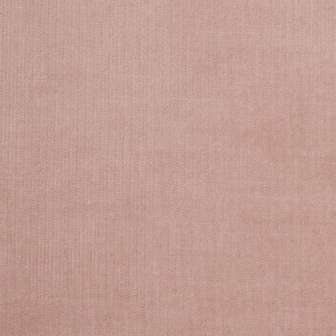 コットン&ポリウレタン×無地(グレイッシュピンク)×細コーデュロイ・ストレッチ_全5色 イメージ1