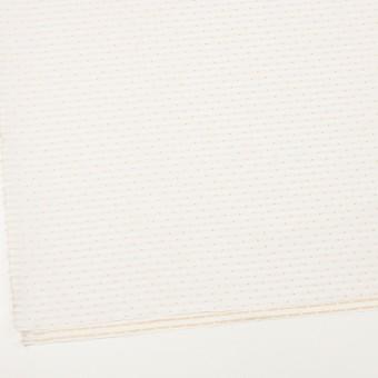 ポリエステル×ドット(オフホワイト)×形状記憶タフタドビー_全2色 サムネイル2