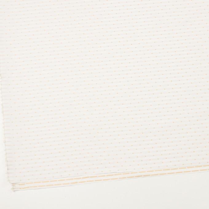 ポリエステル×ドット(オフホワイト)×形状記憶タフタドビー_全2色 イメージ2