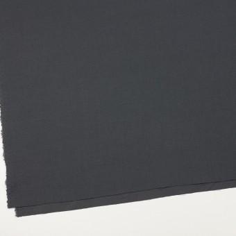 コットン×無地(チャコールグレー)×かわり織_イタリア製 サムネイル2