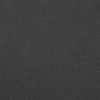 コットン×無地(チャコールグレー)×かわり織_イタリア製