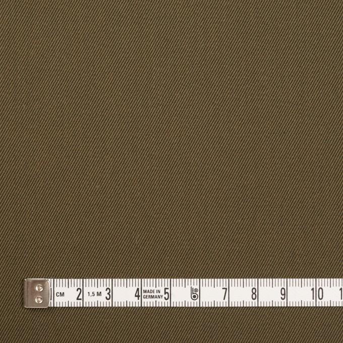 ポリエステル&コットン×無地(カーキ)×チノクロス イメージ4