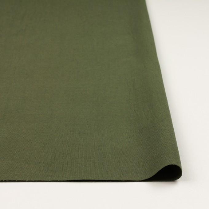 コットン×無地(カーキグリーン)×コードレーン・ワッシャー_全3色 イメージ3