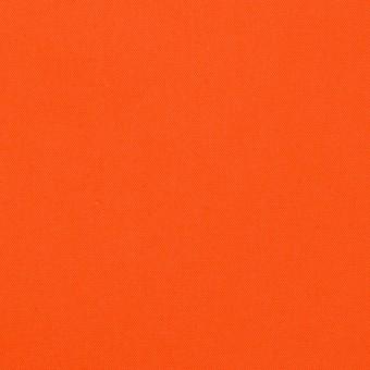コットン×無地(オレンジ)×ギャバジン(パラフィン加工)_全3色