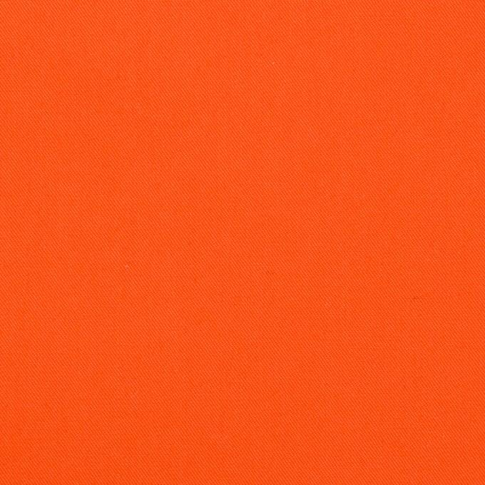 コットン×無地(オレンジ)×ギャバジン(パラフィン加工)_全3色 イメージ1