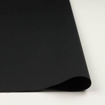 コットン×無地(ブラック)×ギャバジン(パラフィン加工)_全3色 サムネイル3