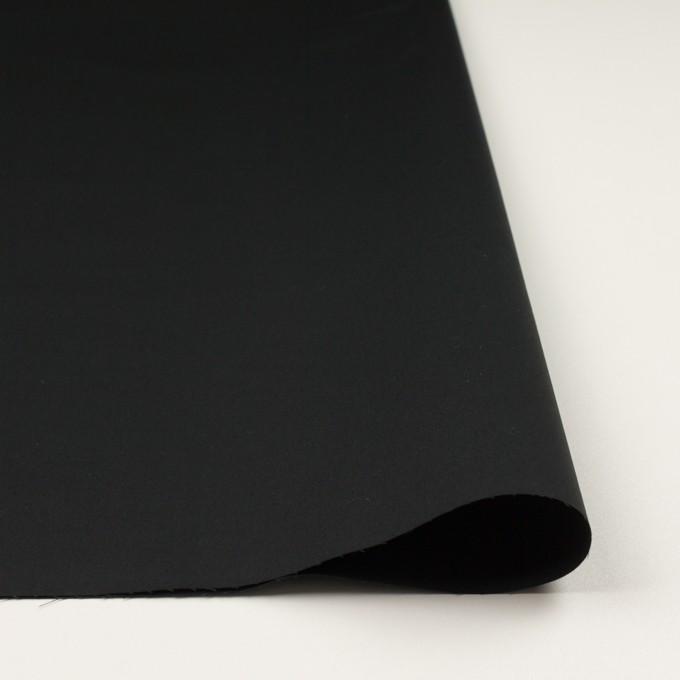 コットン×無地(ブラック)×ギャバジン(パラフィン加工)_全3色 イメージ3
