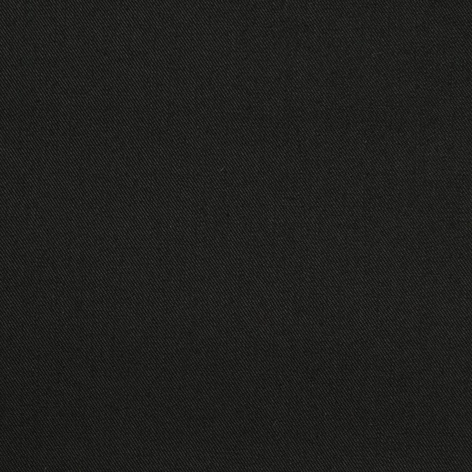 コットン×無地(ブラック)×ギャバジン(パラフィン加工)_全3色 イメージ1