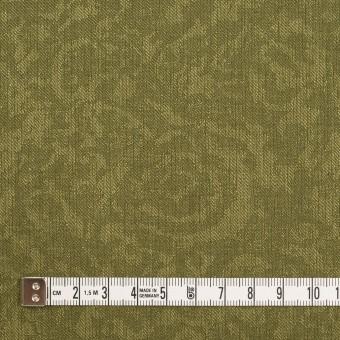 ポリエステル×フラワー(カーキグリーン)×ジャガード サムネイル4