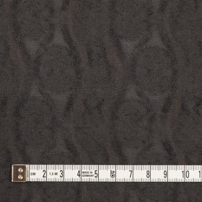 ウール&レーヨン×幾何学模様(ストーングレー)×ジャガード_全3色 イメージ4