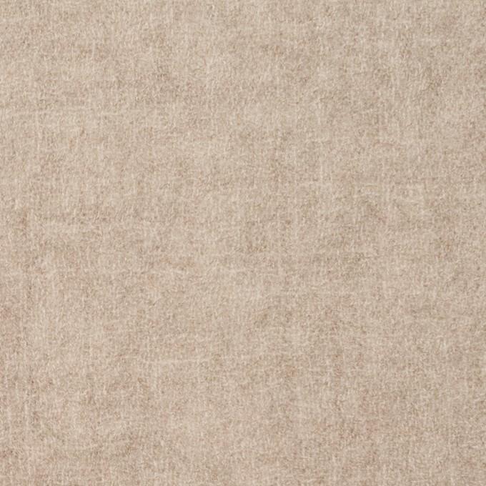 ウール×無地(ベージュ)×ガーゼ イメージ1