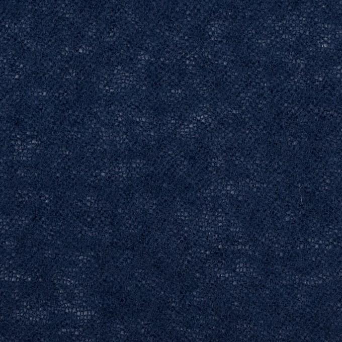 ウール×無地(ネイビー)×ガーゼ イメージ1
