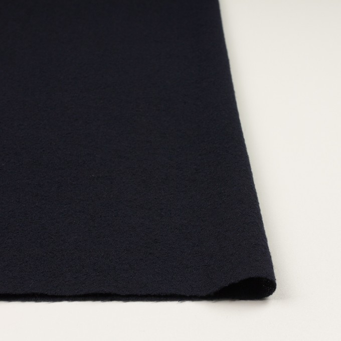 ウール×無地(ブラック)×ガーゼ イメージ3