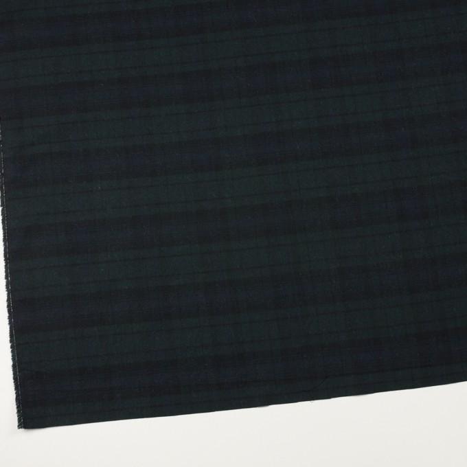 コットン&ポリエステル×チェック(ブラックウォッチ)×ビエラ イメージ2