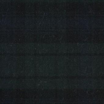 コットン&ポリエステル×チェック(ブラックウォッチ)×ビエラ サムネイル1