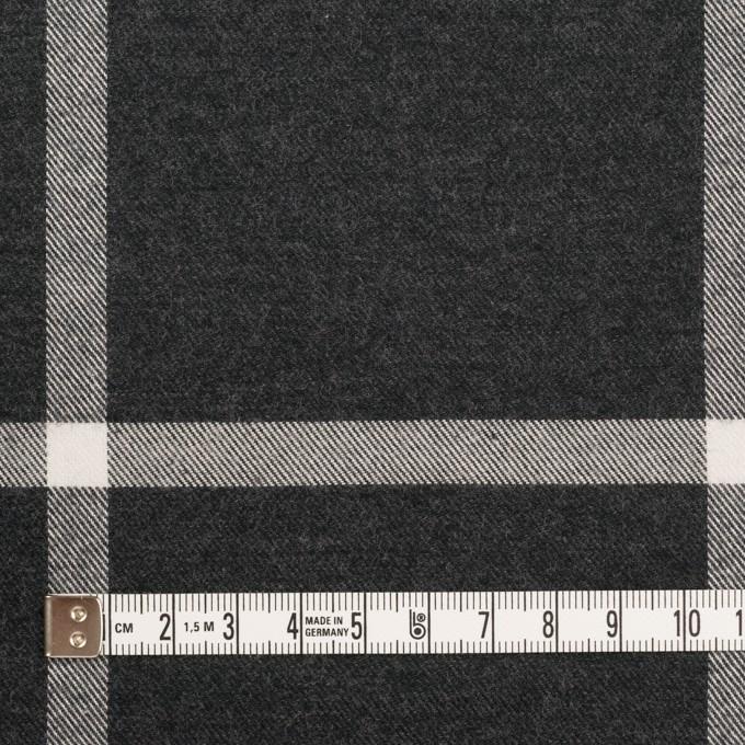 コットン×チェック(チャコール)×ビエラ イメージ4