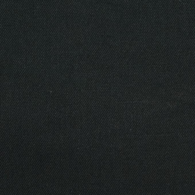 コットン×無地(ブラック)×二重織_全2色 イメージ1
