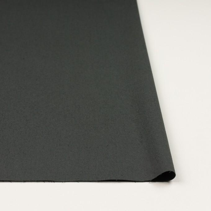 コットン&ポリウレタン×無地(スレートグレー)×サージストレッチ_全3色_イタリア製 イメージ3