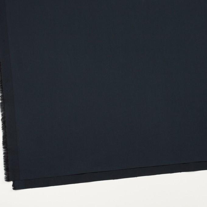 コットン&ポリウレタン×無地(ダークネイビー)×サージストレッチ_全3色_イタリア製 イメージ2