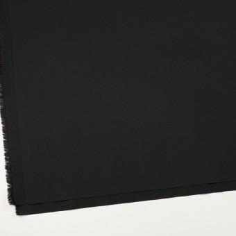 コットン&ポリウレタン×無地(ブラック)×サージストレッチ_全3色_イタリア製 サムネイル2