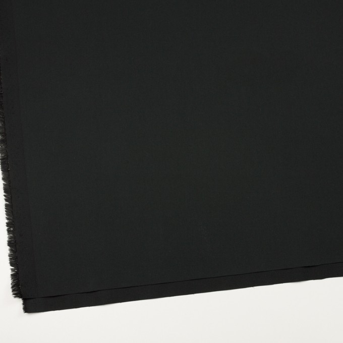コットン&ポリウレタン×無地(ブラック)×サージストレッチ_全3色_イタリア製 イメージ2